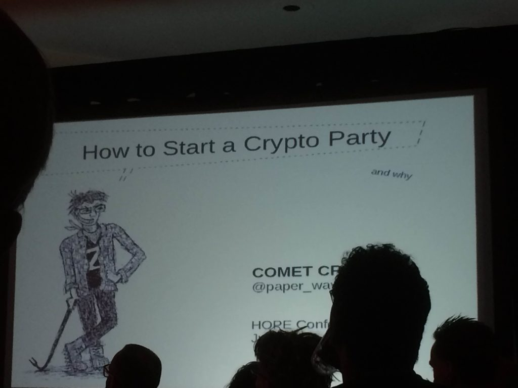 CRYPTO PARTYHOPE SECURITY CONFERENCE NEW YORK 2016